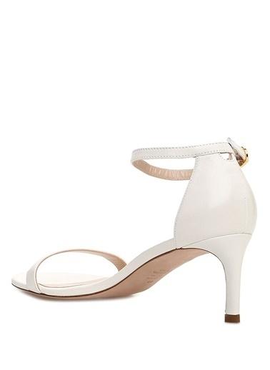 Stuart Weitzman Sandalet Beyaz